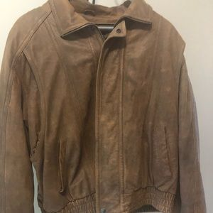 Wilson's leather 2X brown leather jacket
